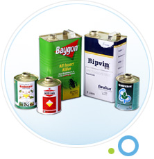 Pesticide Tin Cans